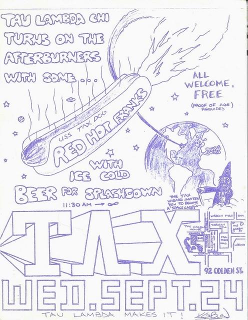 Hot Dog Day Poster - September 24, 1980
