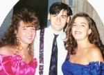 Danielle, Fabio, his little sister Donna