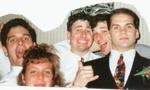John, Susan with big brother Greg Livelli, Rick Troiano