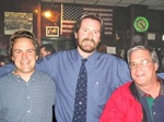 "McGovern's Mini-Reunion, Summer 2003: (l-r) Chris Zeiner, Kelly Giblin, Paul ""Vessel"" Kling"