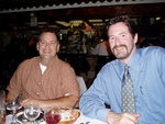 Dinner at Iberia -- July 2004