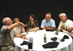 Doug and Arleen Skokna, Margaret and Bob Bedle, Joe Mendryk